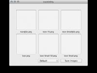 iPhone/iPadアプリ用のアイコンを自動でリサイズ・リネームしてくれるMacアプリ