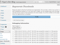 WordPressで登録済画像を再リサイズするプラグイン『Regenerate Thumbnails』