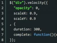 Velocity.jsを使用してjQueryでanimationを軽快に行う