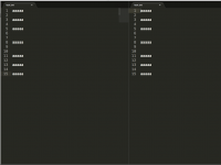 SublimeText2で同ファイルを違うタブで表示