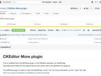 GitHub - zionsg/CKEditor-More-plugin: CKEditor More plugin