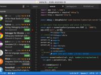 「Atom」から「Visual Studio Code」に乗り換え